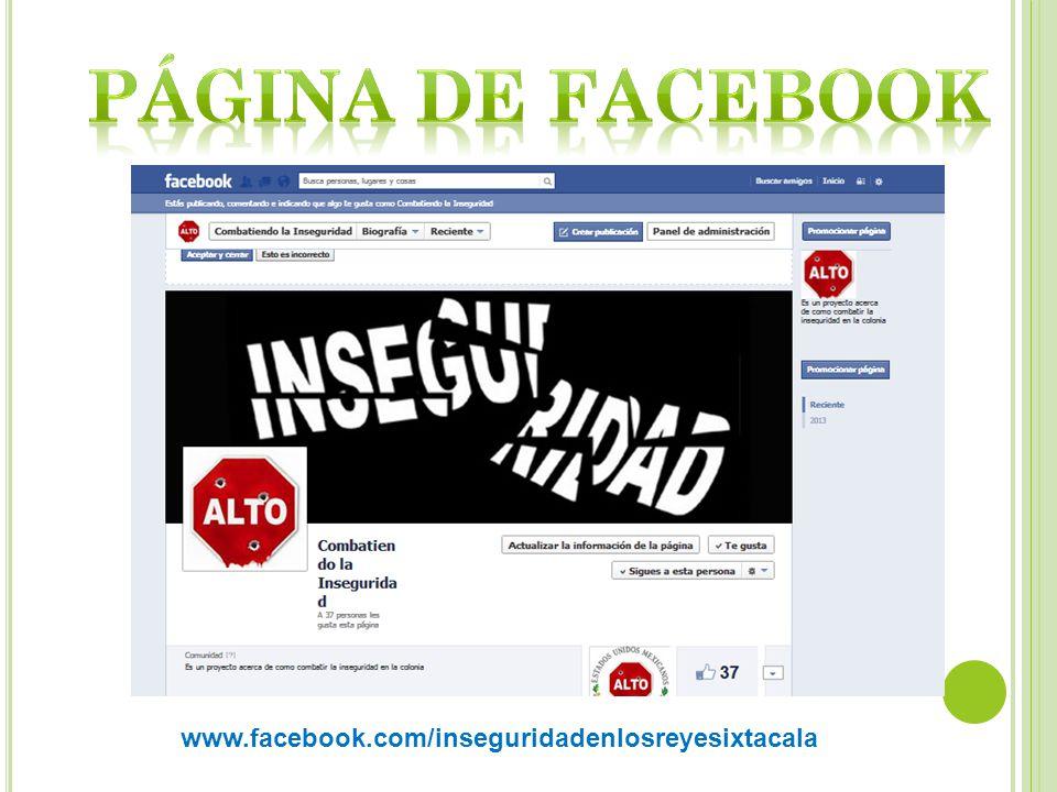 www.facebook.com/inseguridadenlosreyesixtacala