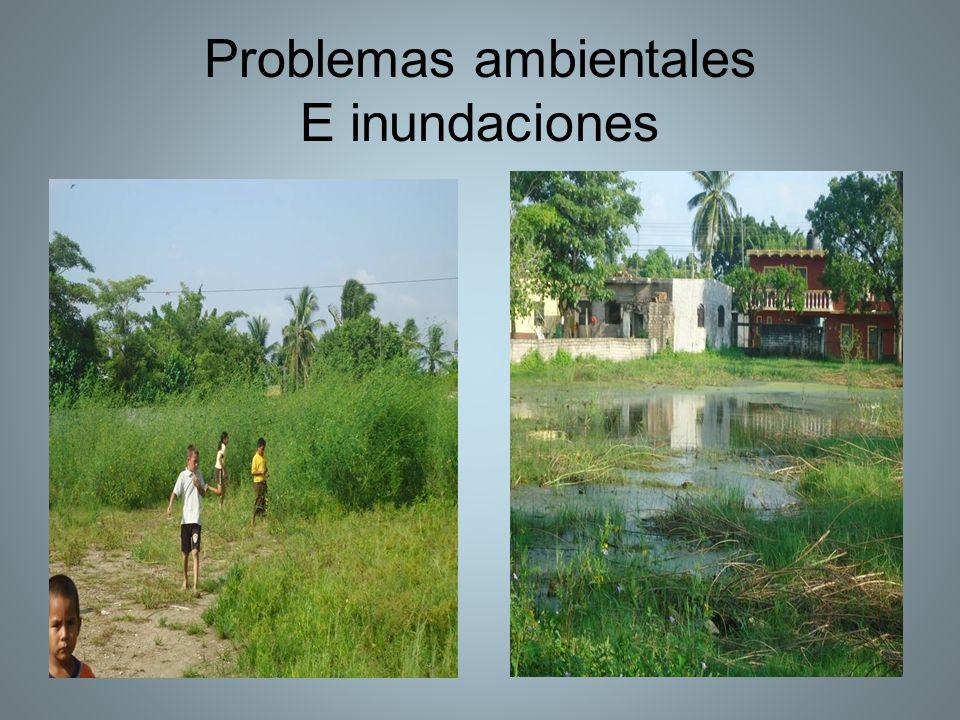 Problemas ambientales E inundaciones