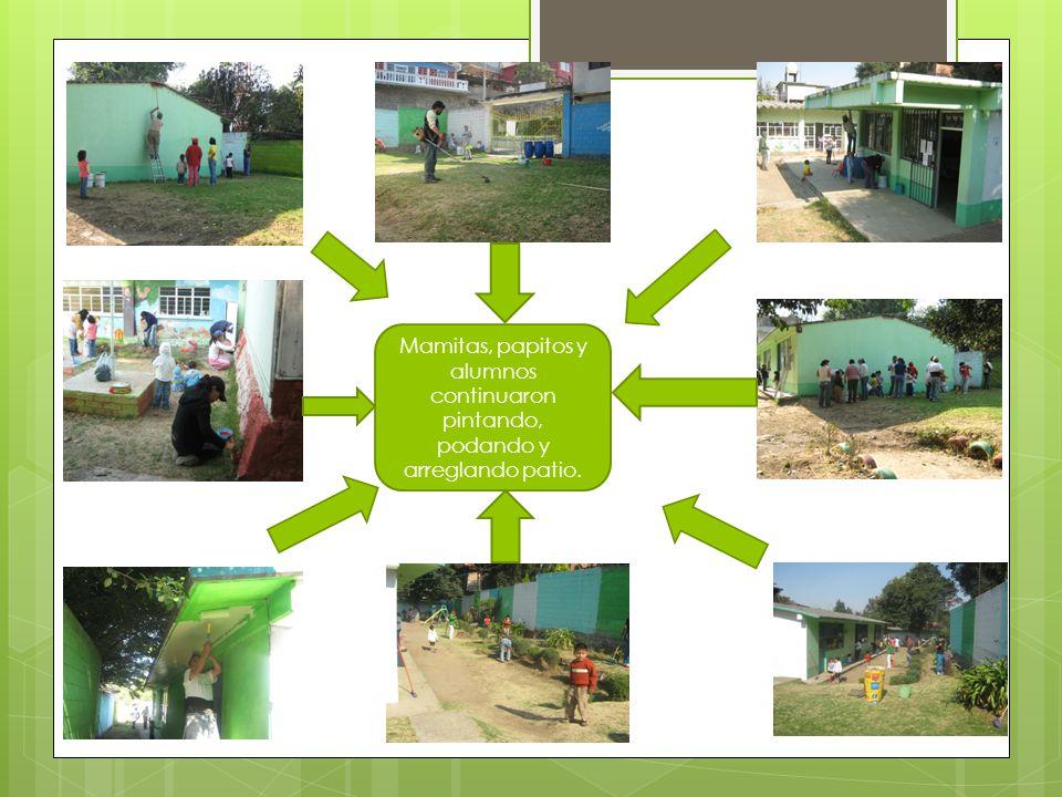 Así quedó nuestra escuela Gracias a la participación y colaboración, entre todos lo logramos.