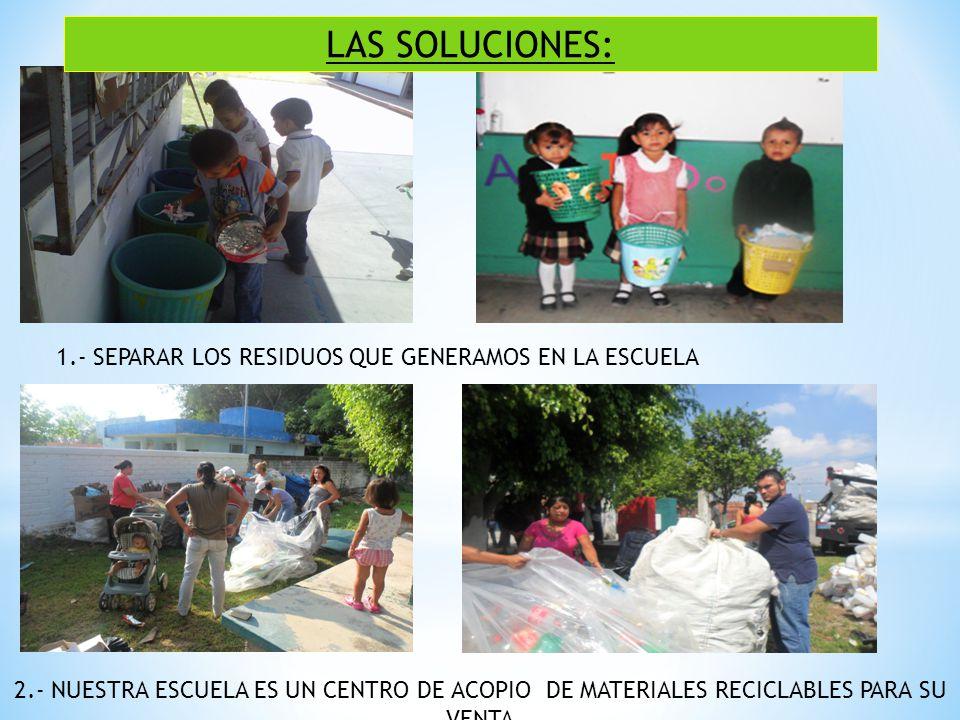 3.- REUTILIZARLOS PARA EVITAR QUE LLEGUEN A LOS TIRADEROS A CIELO ABIERTO COMO JARDINERAS PARA SEMBRAR SEMILLAS PARA CUIDAR LAS SEMILLAS PARA HACER MANUALIDADES