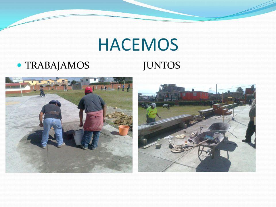 HACEMOS LA BARDA EN CONSTRCCION SE ENCUENTRA EN ESTE MOMENTO AL 25% ESPERAMOS QUE A MAS TARDAR LA PRIMERA SEMANA DE MARZO LA BARDA ESTE CONCLUIDAS HECHOS