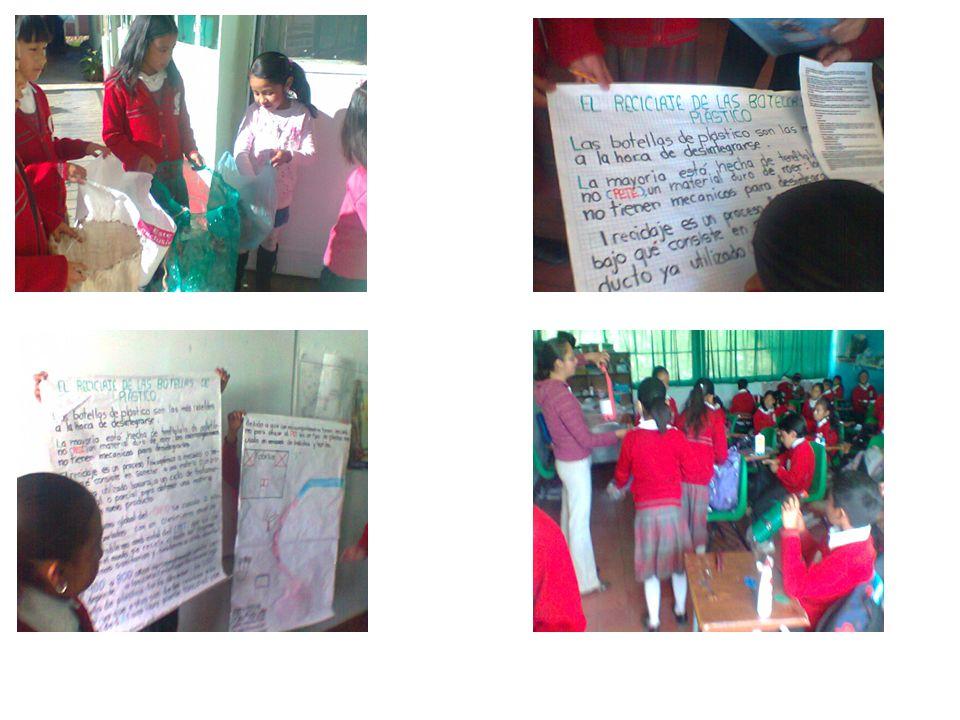 Etapa 4: Comparte Los alumnos compartieron la investigación del daño que causa el plástico al medio ambiente, a la comunidad escolar, padres y madres de familia.