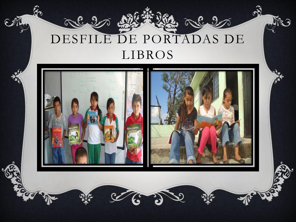 DESFILE DE PORTADAS DE LIBROS