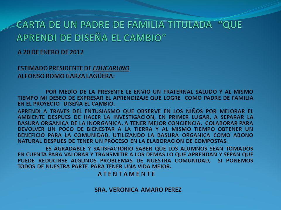 EN VARIAS CASAS DE LA COMUNIDAD DEJARON DE TIRAR LA BASURA ORGANICA Y LA UTILIZARON COMO ABONO, EN MUCHAS OTRAS LLEVAN A CABO LA REALIZACION DE COMPOS