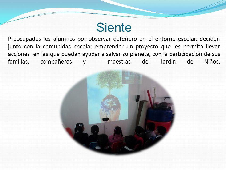Nombre del proyecto: En la escuela, ayudamos a cuidar nuestro Planeta Nombre de la escuela: Jardín de Niños Laura Méndez C.C.T 15EJN1364W Municipio: T