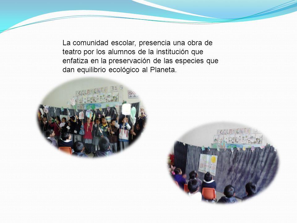 Los alumnos junto con sus familias, participan en actividades gráficas que los motivan a cuidar la flora y la fauna, como parte de su entorno, y prese