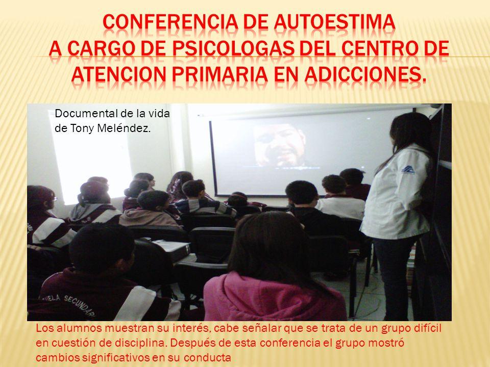 Documental de la vida de Tony Meléndez.