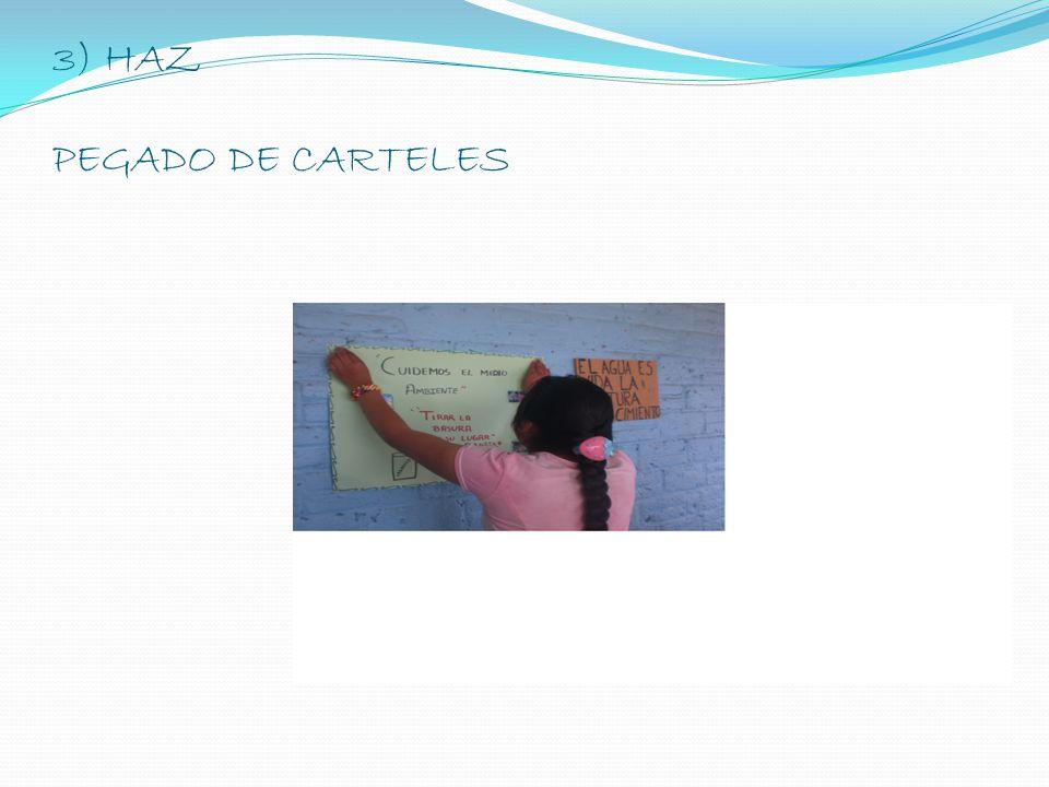 3) HAZ RECORRIDO POR LA COMUNIDAD E INVITACION A BARRER SU FRENTE COMUN