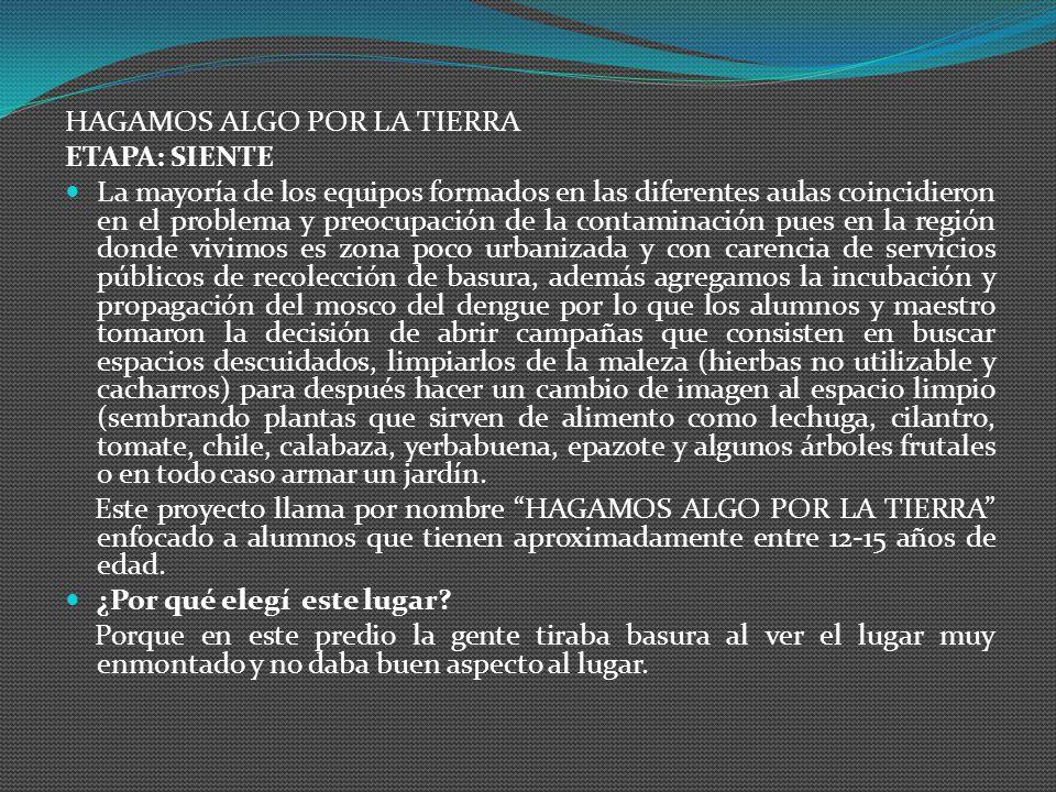 QUERIDA TIERRA: Perdónanos por ensuciarte desde ahora en adelante contaminaremos menos, tendremos que mejorar tu futuro queremos que seas como antes,