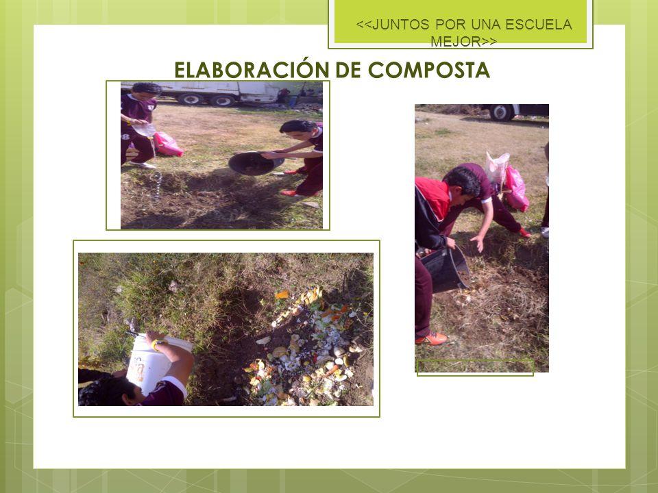 ELABORACIÓN DE COMPOSTA >