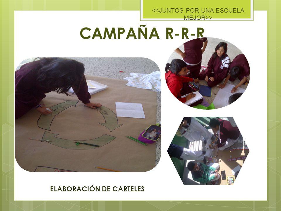 CAMPAÑA R-R-R > ELABORACIÓN DE CARTELES