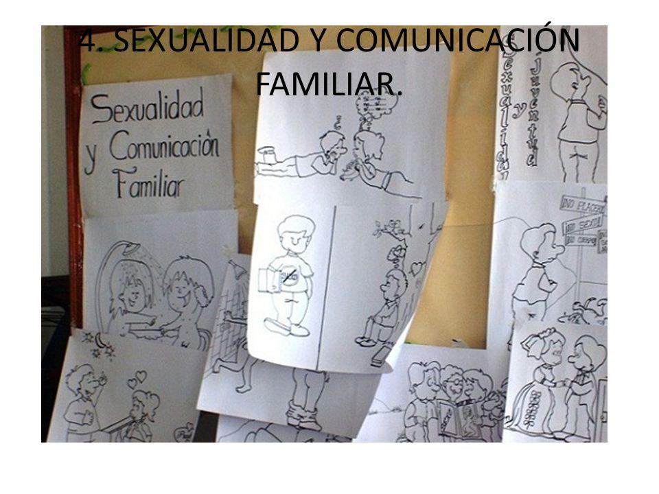 4. SEXUALIDAD Y COMUNICACIÓN FAMILIAR.