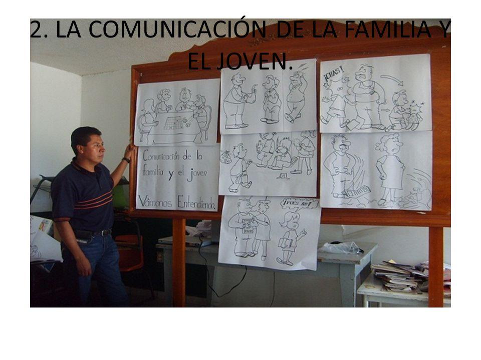 2. LA COMUNICACIÓN DE LA FAMILIA Y EL JOVEN.