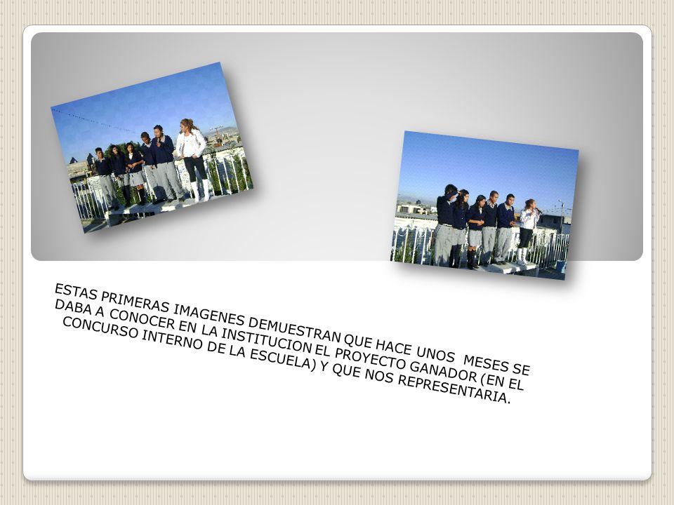 UBICADA EN TIERRA BLANCA ECATEPEC EDO. DE MEXICO SE COMPLACE EN SER UNO DE LOS PARTICIPANTES EN EL PROYECTO