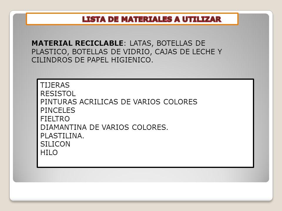 TIJERAS RESISTOL PINTURAS ACRILICAS DE VARIOS COLORES PINCELES FIELTRO DIAMANTINA DE VARIOS COLORES.