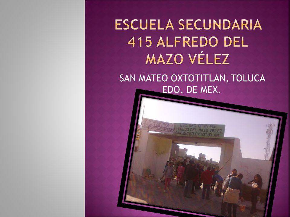 SAN MATEO OXTOTITLAN, TOLUCA EDO. DE MEX.