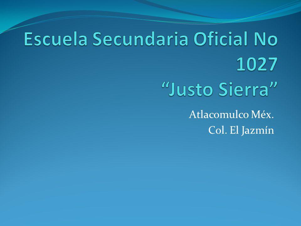 Atlacomulco Méx. Col. El Jazmín