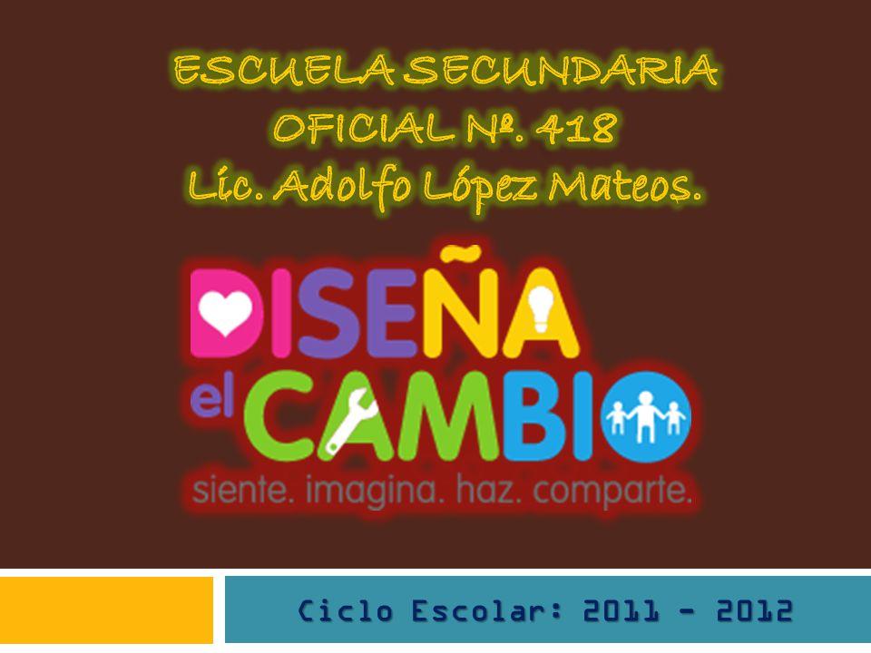 Ciclo Escolar: 2011 - 2012