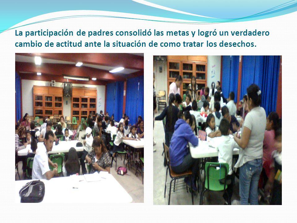 4) COMPARTE HUBO PARTICIPACION TOTAL DE LA COMUNIDAD, LOGRANDO LA META PRINCIPAL AL CONCIENTIZAR A LOS HABITANTES SOBRE LA IMPORTANCIA DEL CORRECTO TR