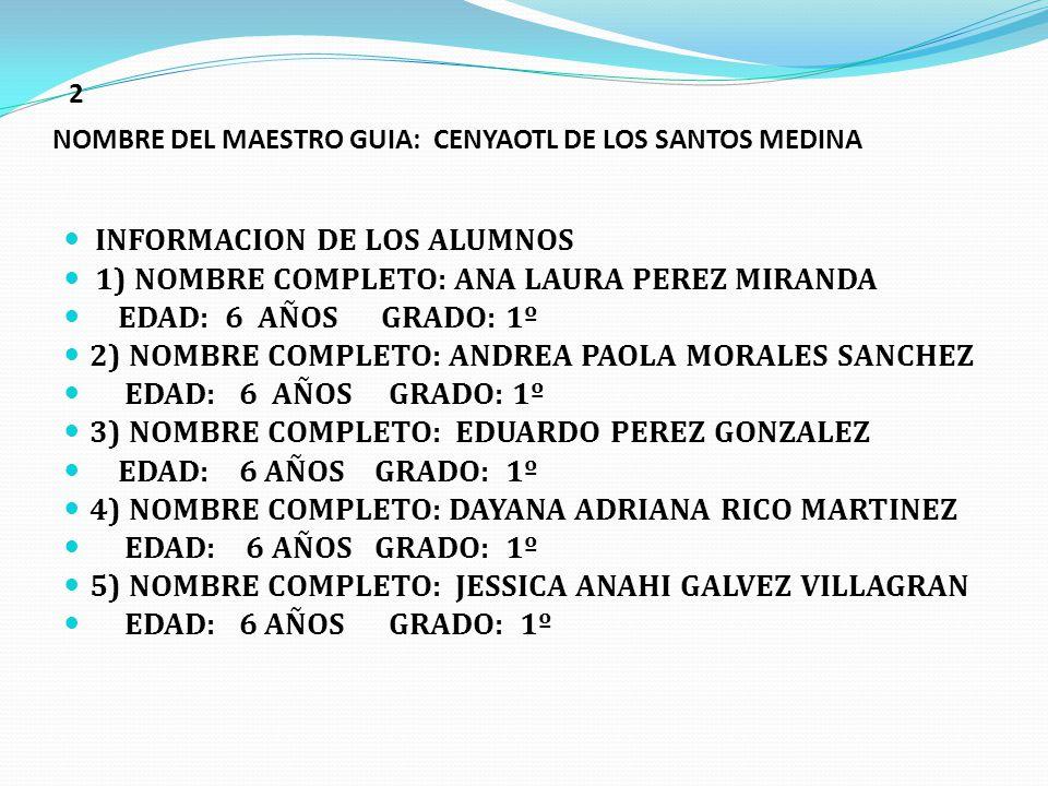 1 NOMBRE COMPLETO DE LA ESCUELA: ESCUELA PRIMARIA CARLOS CHAVEZ CLAVE DE CENTRO DE TRABAJO:15EPR4798T TURNO: VESPERTINO NOMBRE COMPLETO DE L DIRECTOR: