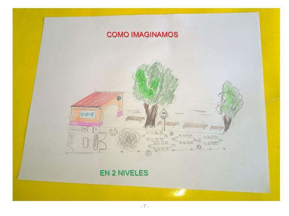 COMO IMAGINAMOS EN 2 NIVELES - 7 -