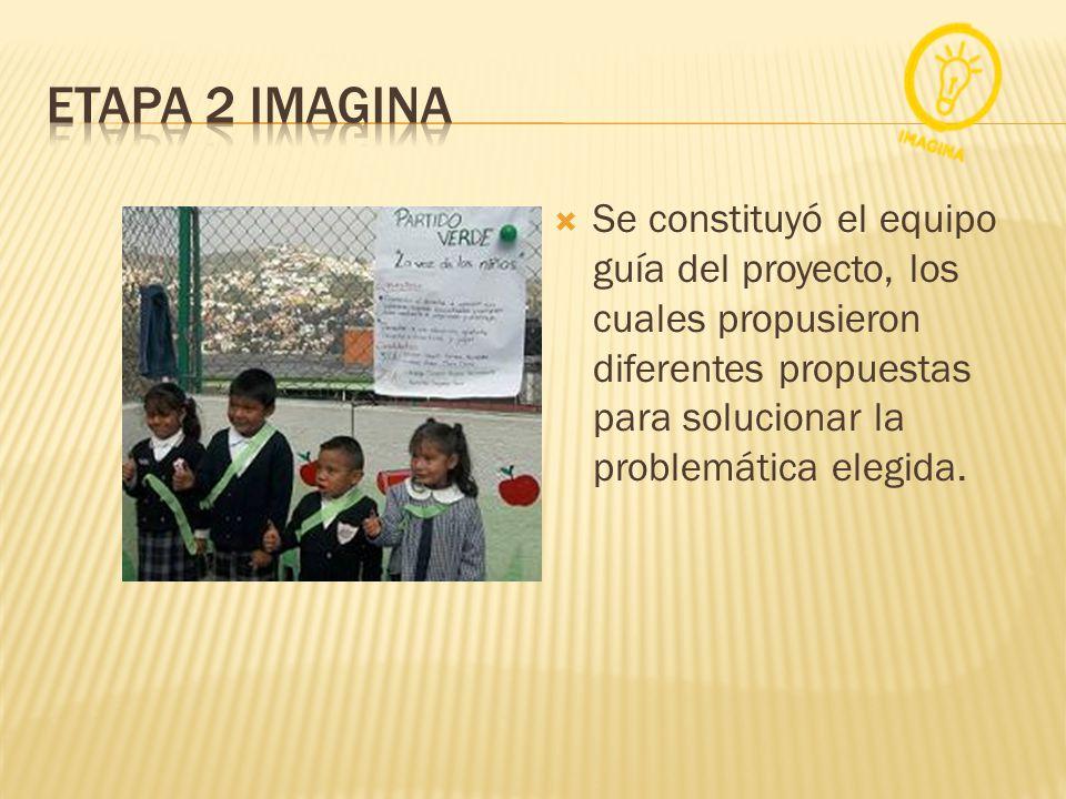 Se constituyó el equipo guía del proyecto, los cuales propusieron diferentes propuestas para solucionar la problemática elegida.