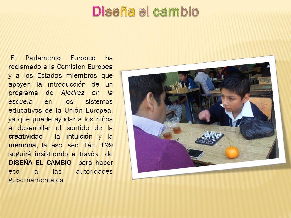 El Parlamento Europeo ha reclamado a la Comisión Europea y a los Estados miembros que apoyen la introducción de un programa de Ajedrez en la escuela e