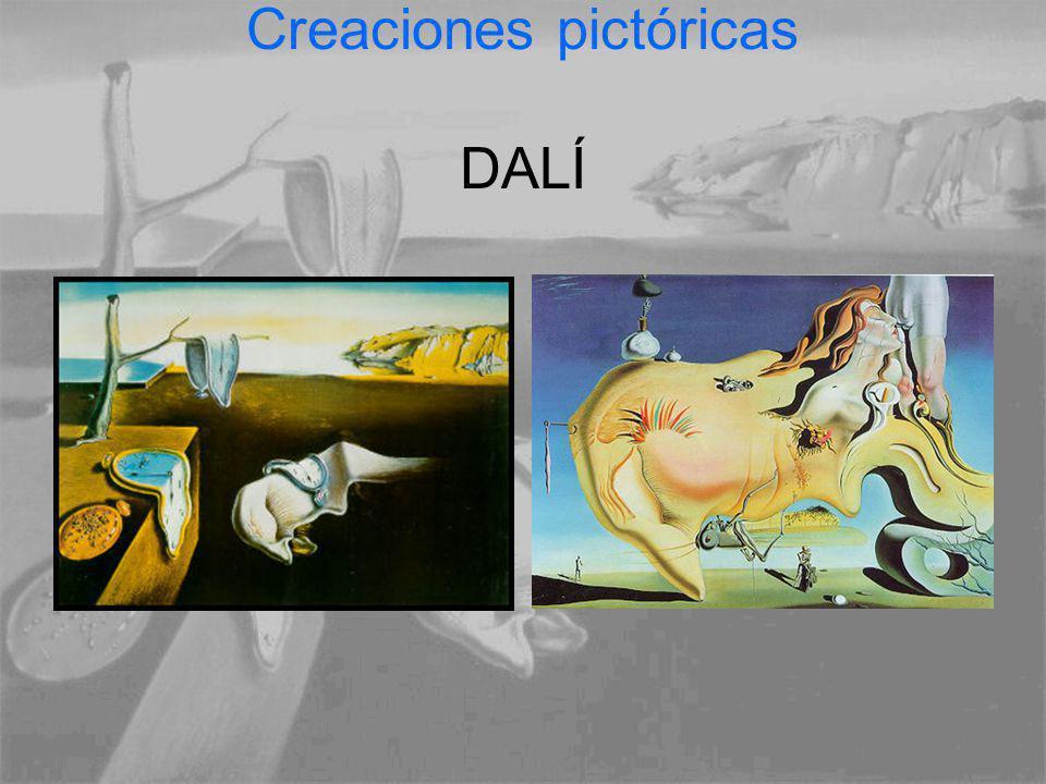 Creaciones pictóricas DALÍ