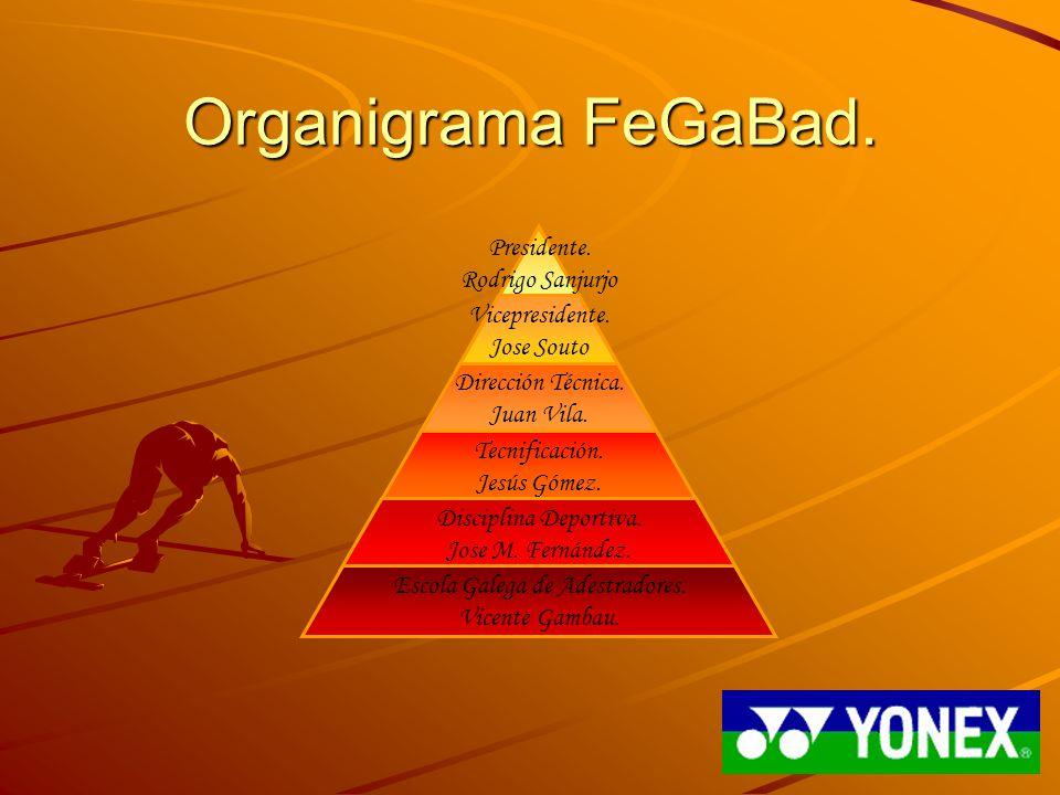 Organigrama FeGaBad.