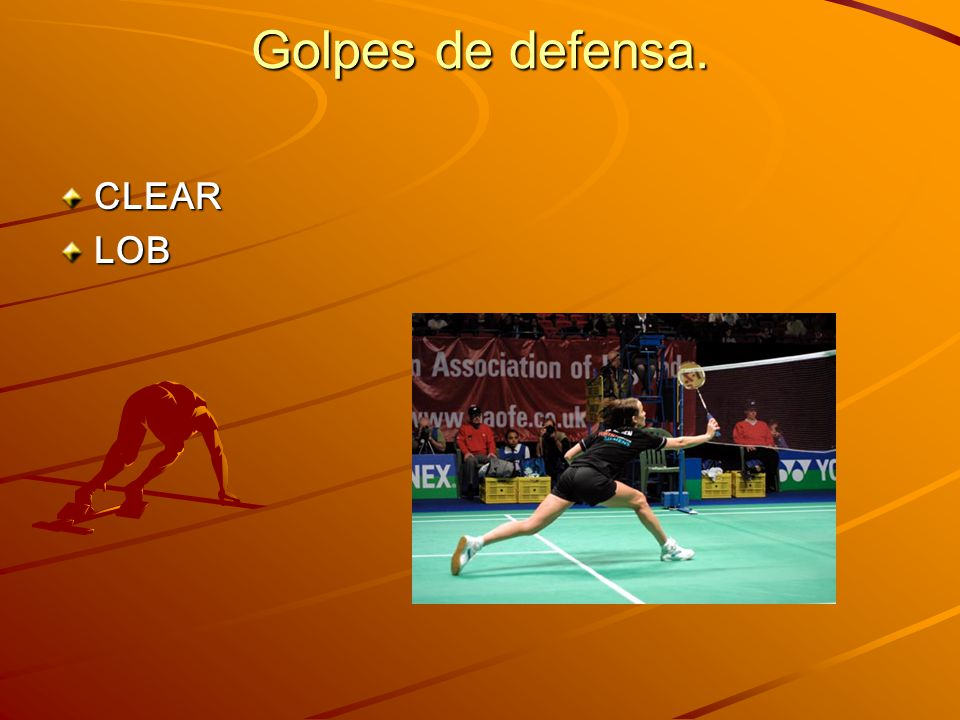 Golpes de defensa. CLEARLOB
