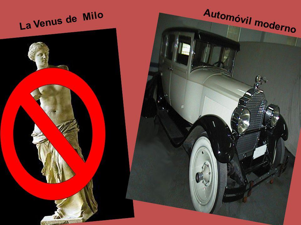 La Venus de Milo Automóvil moderno