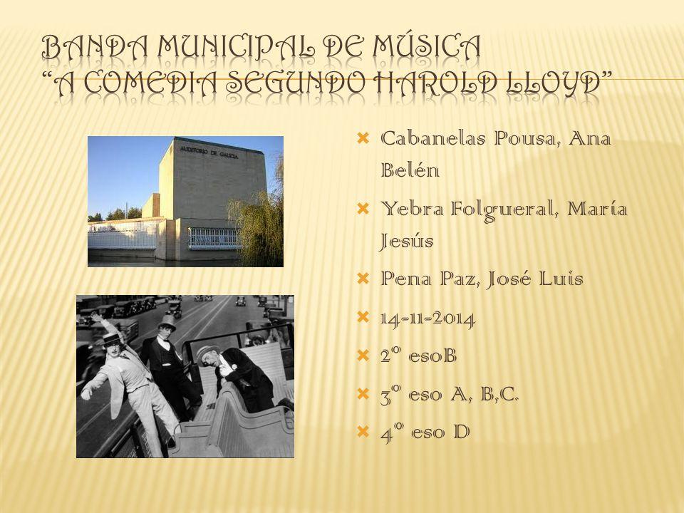 Cabanelas Pousa, Ana Belén Yebra Folgueral, María Jesús Pena Paz, José Luis 14-11-2014 2º esoB 3º eso A, B,C. 4º eso D