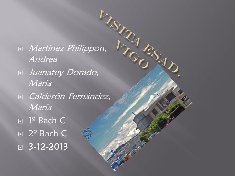 Martínez Philippon, Andrea Juanatey Dorado, María Calderón Fernández, María 1º Bach C 2º Bach C 3-12-2013