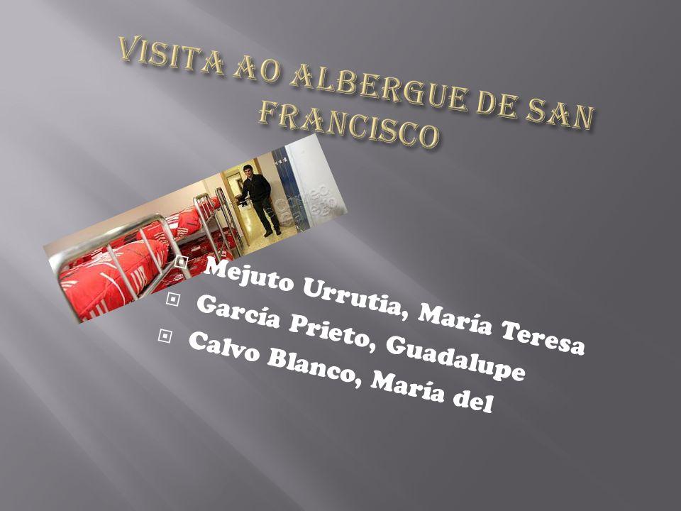 Mejuto Urrutia, María Teresa García Prieto, Guadalupe Calvo Blanco, María del