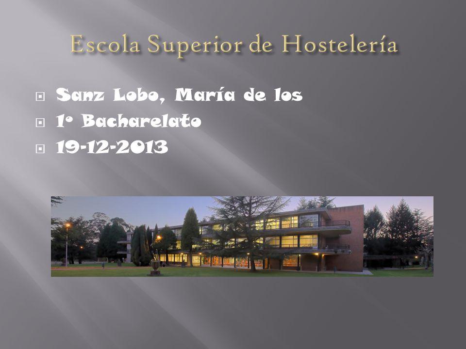 Sanz Lobo, María de los 1º Bacharelato 19-12-2013