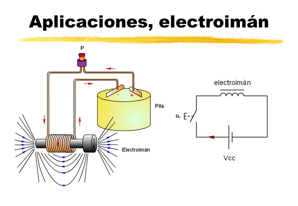 Aplicaciones, electroimán
