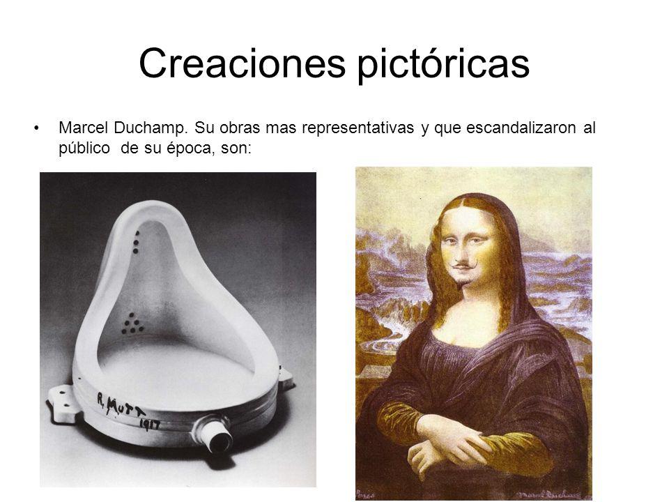 Creaciones pictóricas Marcel Duchamp.