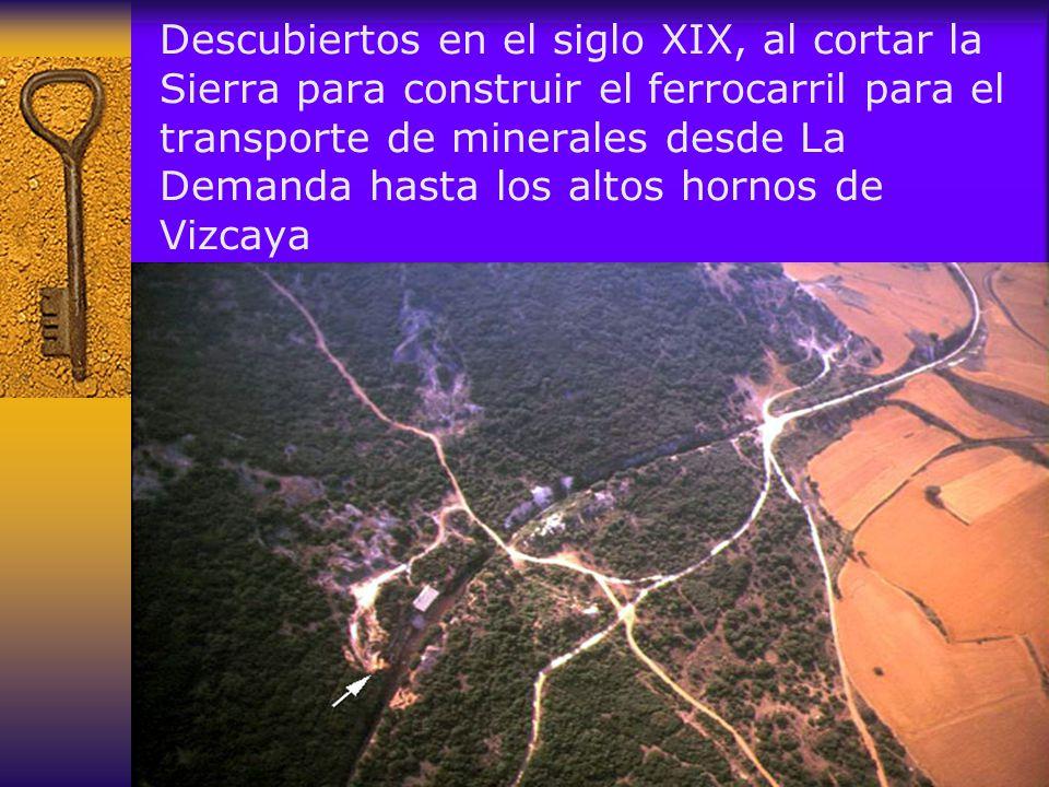 Señalización de los principales enclaves de excavación
