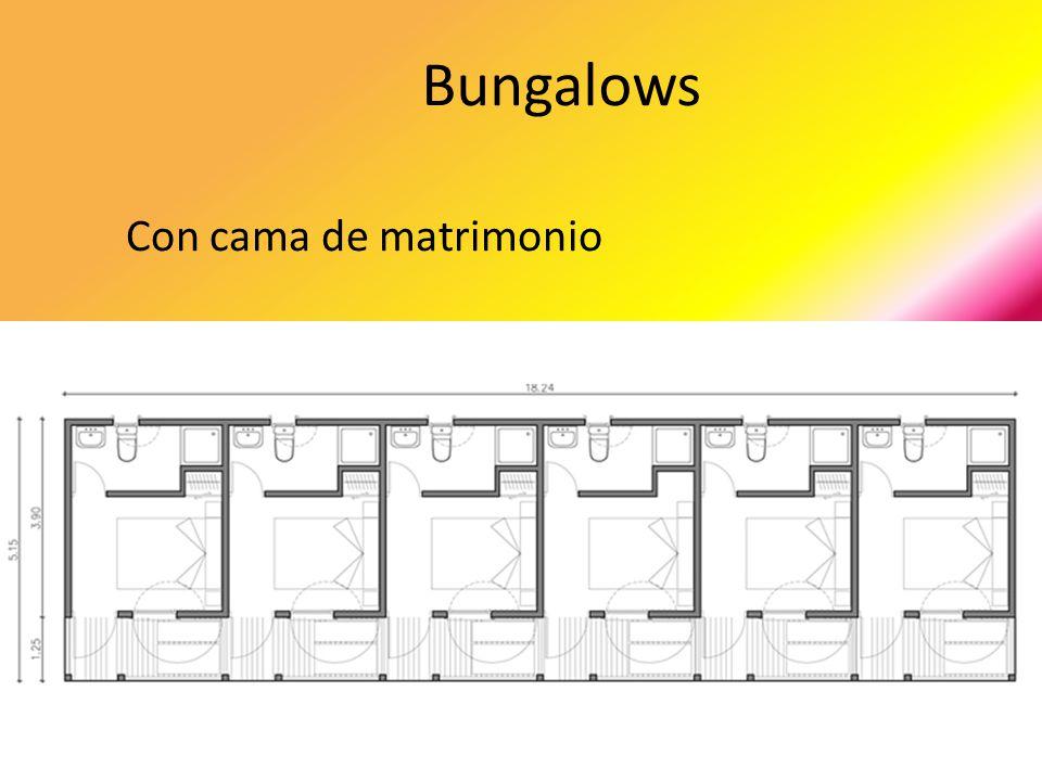 Bungalows Con cama de matrimonio