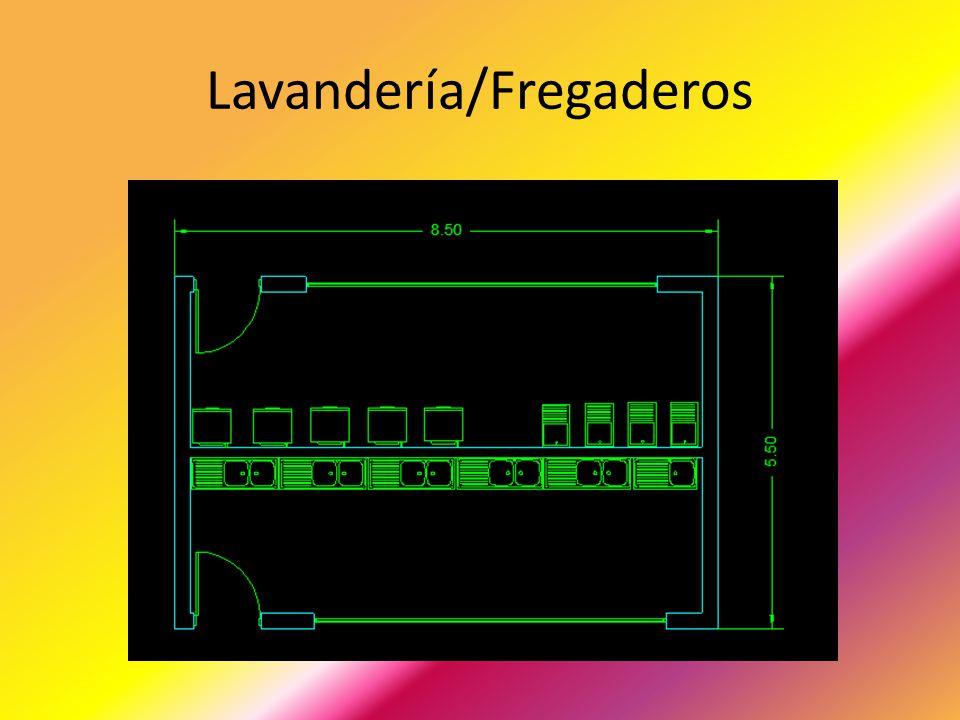 Lavandería/Fregaderos