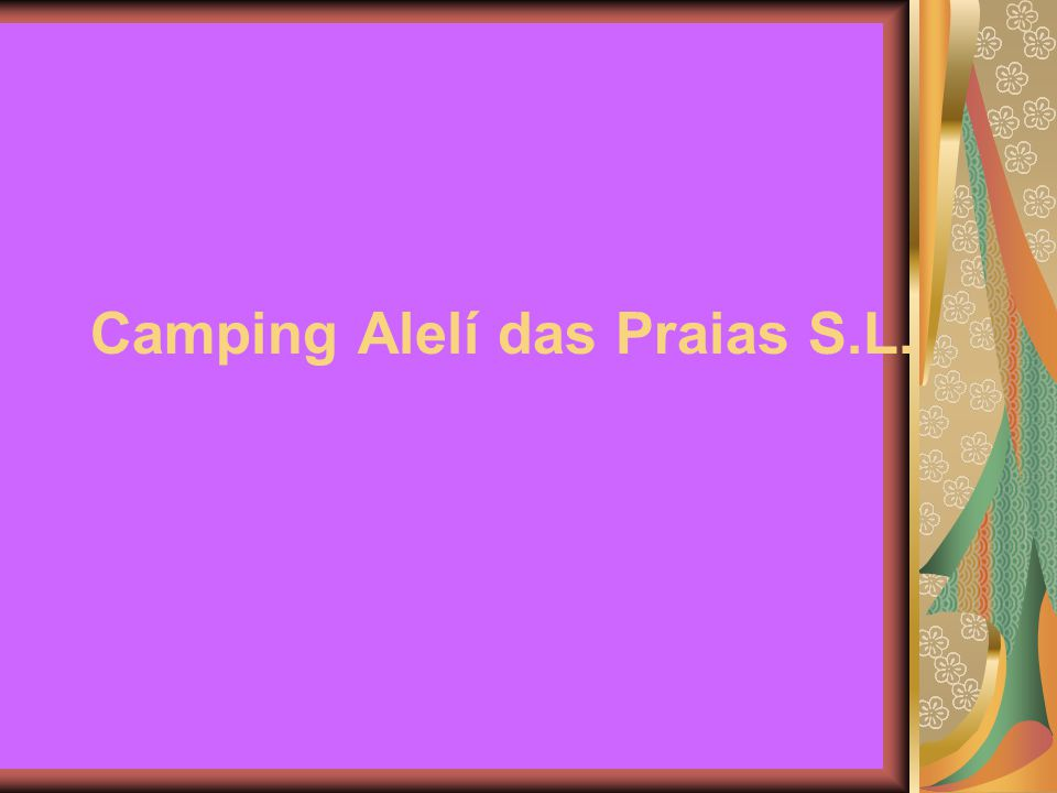 Camping Alelí das Praias S.L.