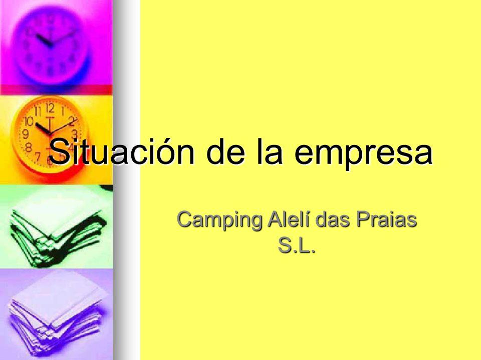 Situación de la empresa Camping Alelí das Praias S.L.