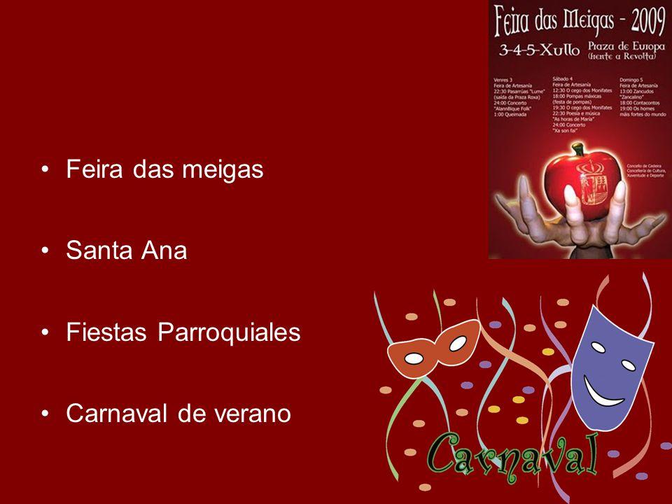 Feira das meigas Santa Ana Fiestas Parroquiales Carnaval de verano