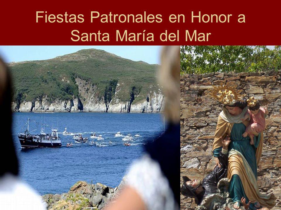 Fiestas Patronales en Honor a Santa María del Mar