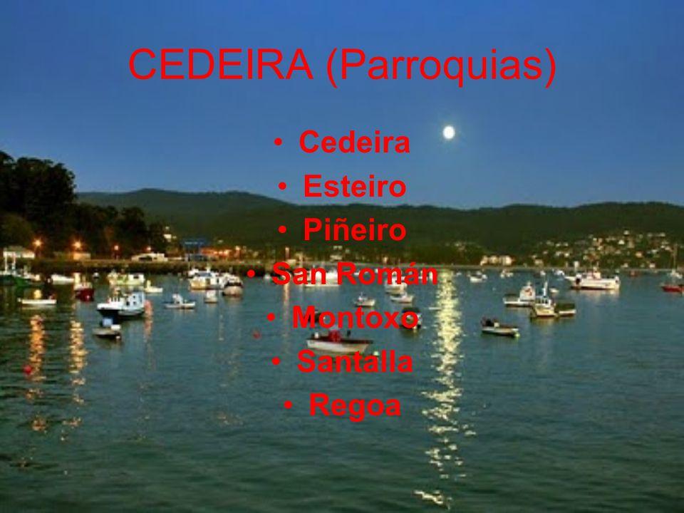 CEDEIRA (Parroquias) Cedeira Esteiro Piñeiro San Román Montoxo Santalla Regoa