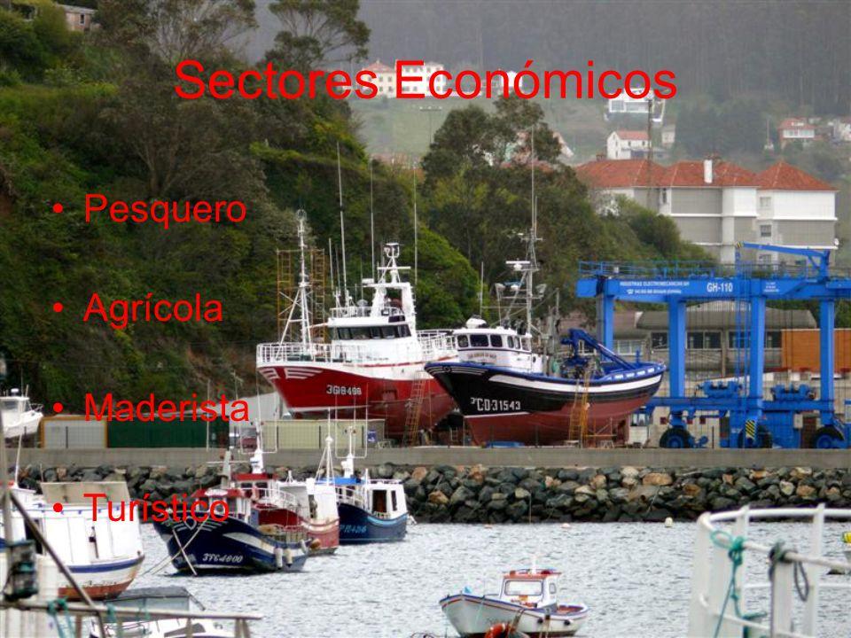 Sectores Económicos Pesquero Agrícola Maderista Turístico