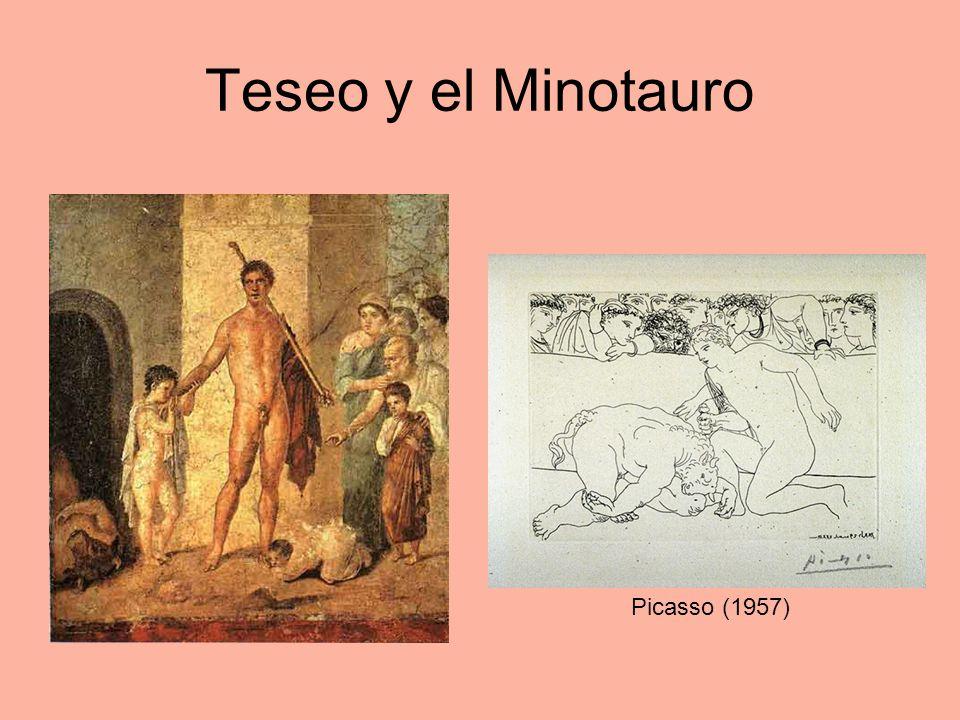 Teseo y el Minotauro Picasso (1957)