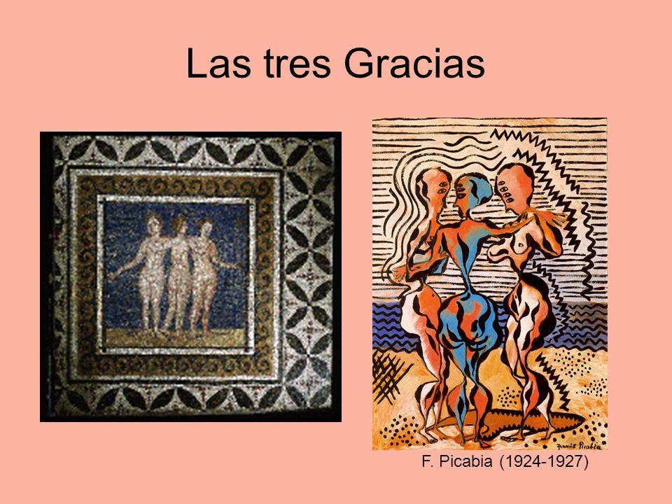 Las tres Gracias F. Picabia (1924-1927)