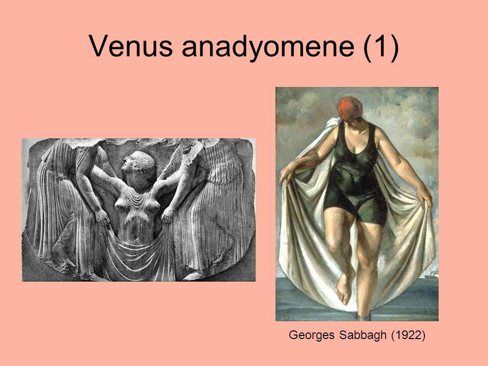 Venus anadyomene (2) Paul Manship (1924)