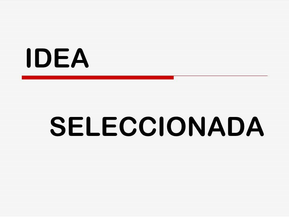 IDEA SELECCIONADA